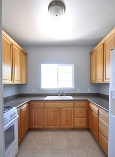 Kitchen ideas - before painting cupboards