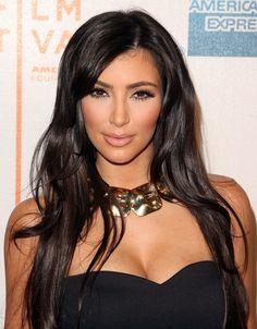 "Kim Kardashian - Premiere Of ""Wonderful World"" At The 2009 Tribeca Film Festival Kardashian Photos, Kardashian Style, Tribeca Film Festival, Blush Dresses, Celebs, Celebrities, Brunette Hair, Red Hair, Beauty Women"
