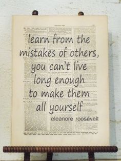 love eleanor roosevelt! some of my favorite quotes come from this extraordinary lady!