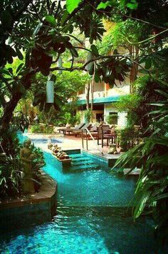 Lazy river in the backyard? Heck yes!