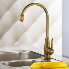 Cheap Centerset Antique Brass Kitchen Tap T0428 Online Outlet with Free Shipping
