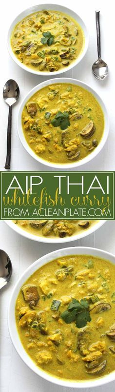 Autoimmune Protocol Thai Whitefish Curry recipe from acleanplate.com