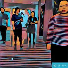 Transversing #prisma  #prismaapp #fineart #artwork #officemates