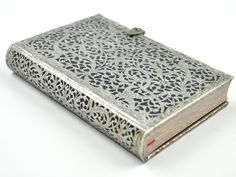 Paperblanks Silver Filigree Shadow Journal, Mini
