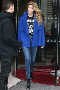 Gigi Hadid Has Been Wearing This New Denim Brand Constantly #refinery29  http://www.refinery29.com/2016/04/107766/gigi-hadid-jeans-parker-smith#slide-1  Hadid was first spotted wearing Parker Smith at Paris Fashion Week in October. She packed the Bombshell Skinny in Empire ($175) for her daytime and nighttime off-duty looks....