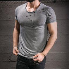 camiseta destroyed: estilo e atitude para o seu look