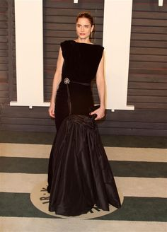 Amanda Peet attends the 2016 Vanity Fair Oscar Party at the Wallis Annenberg Center for the Performing Arts in Beverly Hills, Calif., on Feb. 28, 2016.