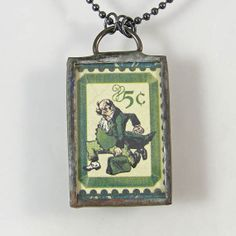 Wizard of Oz Pendant Necklace - The Wizard by XOHandworks $25