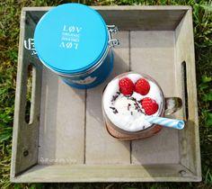 Tea with Vanilla Ice Cream / http://juli-und-die-welt.blog.de/