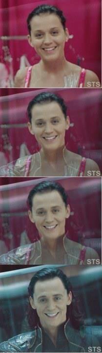 Katy Perry is Loki.