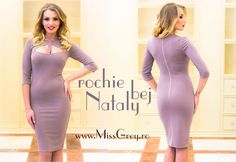 Nude elegant dress, shop it here: https://missgrey.ro/ro/produse-noi/rochie-nataly-bej/285?utm_campaign=colectie_februarie&utm_medium=natalybej_postare&utm_source=pinterest_produs