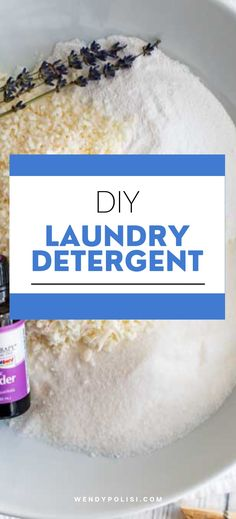 Skip the chemicals and opt for pure and simple ingredients that will still leave your clothes fresh and clean. Using this DIY Laundry Detergent is safe, economical, effective, eco-friendly and will leave your clothes smelling great! Here is everything you need to know about greening your laundry routine and helping your family avoid toxins. Diy Laundry Detergent, Cleaning Spray, Healthy Gluten Free Recipes, Diy Cleaners, Balls Recipe, Essential Oil Uses, Fresh And Clean, Household Tips, Natural Health
