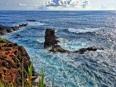 Coastline Flores Azores