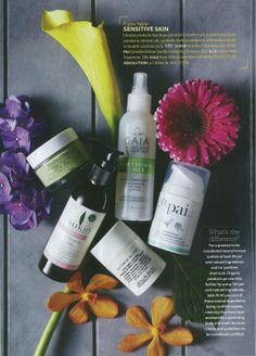 Good Health March 2013 Sukin Sensitive Cleansing Gel features in the Sensitive Skin special.