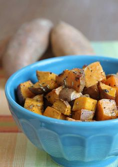 Butter-roasted sweet potatoes with honey and lime. Easy sweet potato preparation hilahcooking.com