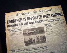 Charles Lindbergh's Transatlantic Flight Swing Era, Charles Lindbergh, Lindy Hop, Vintage Photos, Vintage Photography
