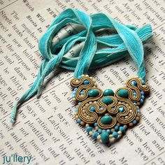 soutache | Soutache by Yulia Logvinova. | Flickr - Photo Sharing!