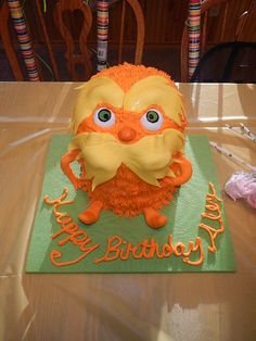 Awesome idea! Actually make the lorax. Talon would poop his pants!