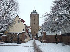 Basler Tor, Karlsruhe Durlach, Germany