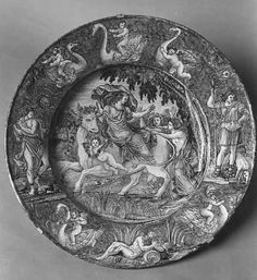NEVERS Grand plat circulaire : l'Enlèvement d'Europe  Vers 1675-1690 (grand feu) Decorative Plates, Images, Louvre, Europe, Home Decor, Decoration Home, Room Decor, Home Interior Design, Home Decoration