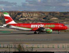 Myair EI-DJH aircraft at Madrid - Barajas photo