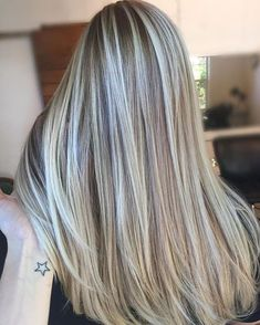 Image result for frosted hair for gray hair