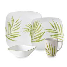 Corelle® Vive Bamboo Leaf 16-Piece Dinnerware Set - Bed Bath & Beyond