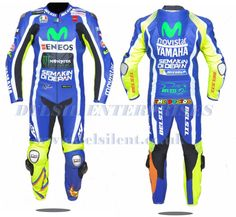 Yamaha Milwaukee Motorbike Rider's Racing Leather Suit For Men Motorbike Leathers, Motorcycle Jacket, Moto Gp 2017, Valentino Rossi 46, Vr46, Sport Wear, Motogp, Leather Fashion, Mens Suits