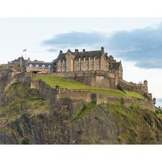 Stewart Parr 'Edinburgh Castle from Kings Stables Street in Edinburgh Scotland