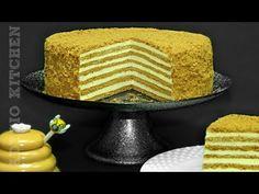 Prajitura Marlenka cu miere si frisca | Prajituri de casa - YouTube Romanian Food, Romanian Recipes, Food Cakes, Cake Recipes, Cake Decorating, Goodies, Baking, Sweet, Desserts