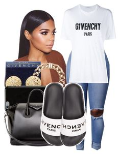 """G I V E N C H Y "" by shamyadanyel ❤ liked on Polyvore featuring Givenchy"