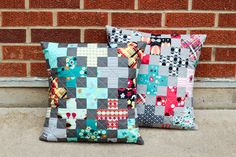 In Color Order: Modern Plus Pillow Tutorial