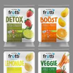 Freelance - New frozen natural fruit pulp is looking for a modern bold and bright packaging by Gustavo RV