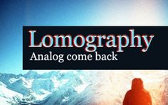 Article  Lomography – A few great Pics of analogue photography