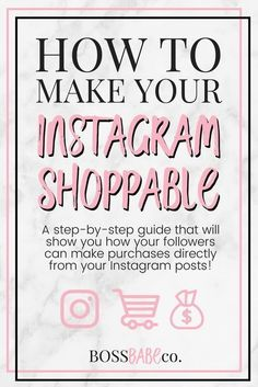 This is a step-by-step guide that will show you how your followers can make purchases directly from your Instagram posts.  - Instagram Advertising ideas #InstagramAdvertising Likes No Instagram, Tips Instagram, Instagram Marketing Tips, Instagram Posts, Instagram Shop, Instagram Advertising, Advertising Ideas, Instagram Business Ideas, Followers Instagram
