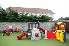 outdoor play toys for children - Bing images Backyard Toys, Backyard For Kids, Role Play Areas Eyfs, Outdoor Toy Storage, Toddler Playground, Outdoor Play Areas, Playground Design, Kids Crafts, Kids Toys