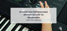 Ever wondered how to approach teaching students basic non-jazz improvisation? We know that as teachers, in order to provide our students with a holistic musical education, we should be incorporating aural, theory, sight-reading, general knowledge, composition and improvisation into our lessons on a regular basis. However for many teachers, it's hard to know where to start... or where to find the time! Paul Harris really got me thinking about this recently through his concept of Simultane...