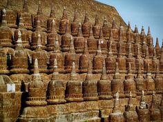 Kothang Temple (1553) is the largest temple in Mrauk U. It means Shrine of 90000 images and underwent massive reconstruction in 1996. #kothaungpaya #mrauku #myanmar #ancient #temple #travel #traveler #trip #holiday #vacation #wanderlust #tastetravel #tastetravelfoodadventuretours #sunshinecoast #australia #localsknow