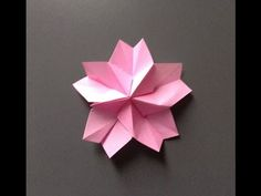 見ながら一緒に折れる.折り紙~cherry blossoms 桜~ - YouTube