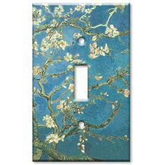 Art Plates - Van Gogh: Almond Blossoms Switch Plate - Single Toggle Art Plates http://www.amazon.com/dp/B002F8VAKY/ref=cm_sw_r_pi_dp_.Muvvb12H9552