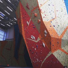Love this wall... Even if it scares the bejesus out of me #climbing #friday