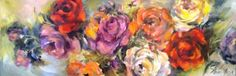Petro Neal  Alice Art Gallery Neal Art, South African Art, Flower Paintings, Florals, Art Gallery, Alice, Roses, Paintings Of Flowers, Floral