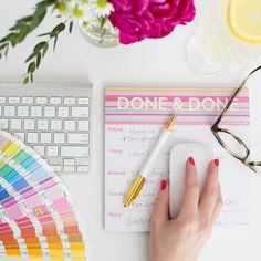 Done & Done Notepad – Ashley Brooke Designs