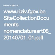 www.riziv.fgov.be SiteCollectionDocuments nomenclatureart08_20140701_01.pdf