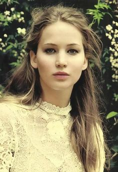 Jennifer Lawrence ♥ now this is someone young girls can look up to :)
