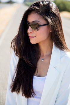 I bet you're probably wondering what to wear for this Labor Day weekend, so what's better than an all white outfit All White Outfit, White Outfits, Labour Day Weekend, Stylish Sunglasses, How To Find Out, Your Style, What To Wear, Things To Come, Style Inspiration