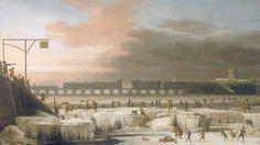 For 200 år siden kunne til og med en elefant krysse Themsen til fots. Kalde vintre og en dumt konstruert bro gjorde det mulig å arrangere ismarkeder på elven.