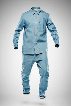 Marc Newson Denim Lightweight Jacket and Jeans