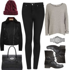 """Requested: Outfit with Steve Madden Combat Boots"" by eleanorcalder-lookbook ❤ liked on Polyvore"