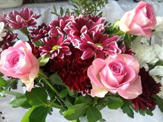 Birthday flowers - January 2014